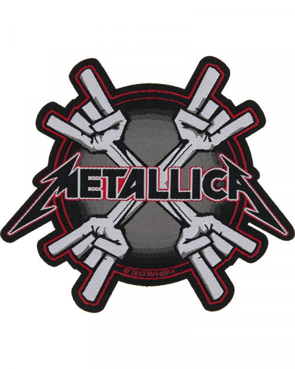Metallica - Metal Horn Woven Patch