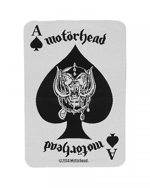 Motorhead - Ace of Spades Card Woven Patch