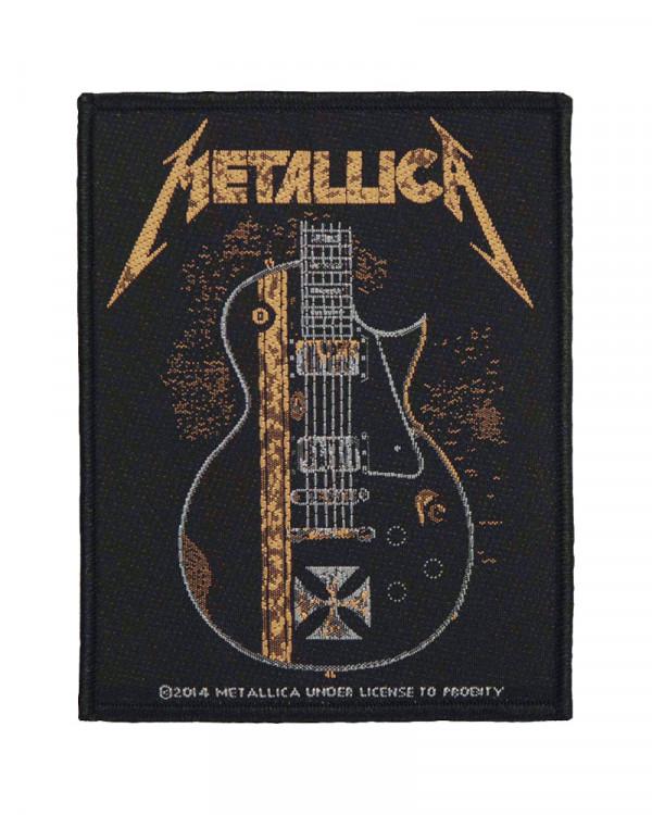Metallica - Hetfield Guitar Woven Patch