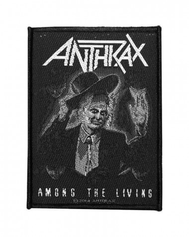 Anthrax - Among the Living Woven Patch