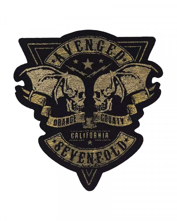 Avenged Sevenfold - Orange County Cut-Out Woven Patch