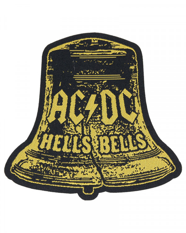 AC/DC - Hells Bells Cut Out Woven Patch