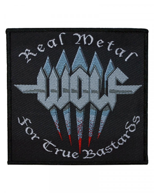 Wolf - Real Metal Woven Patch