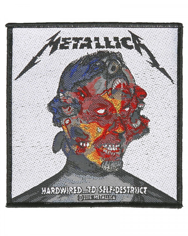 Metallica - Hardwired To Self Destruct Woven Patch