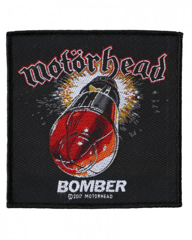 Motorhead - Bomber Woven Patch