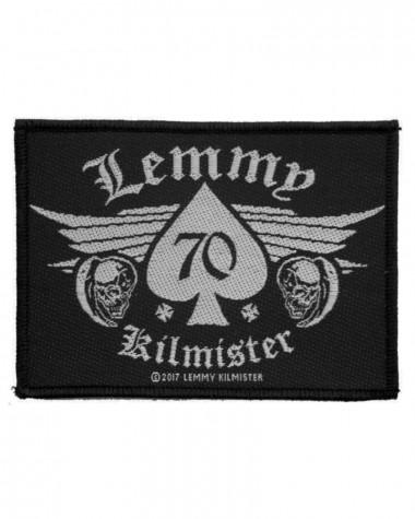 Motorhead - Lemmy 70 Kilmister Woven Patch