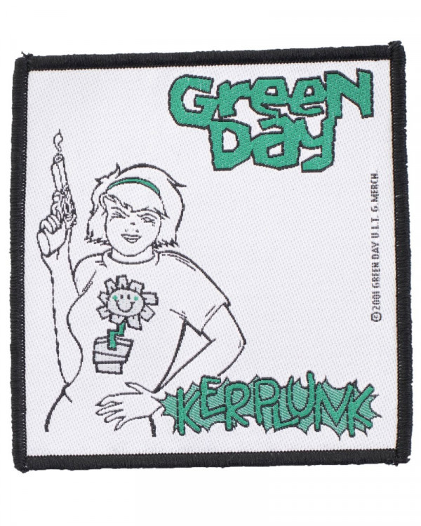 Green Day - Kerplunk Woven Patch