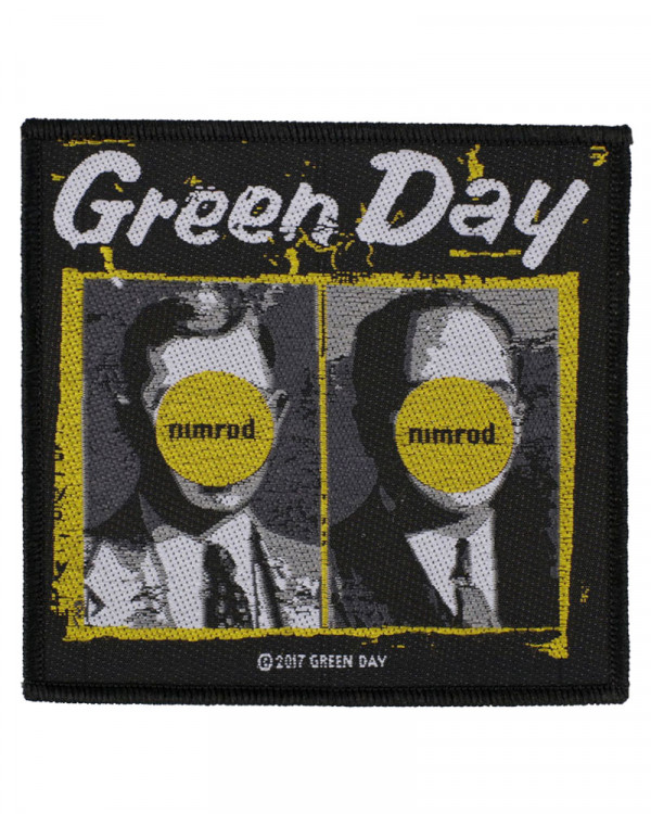 Green Day - Nimrod Woven Patch