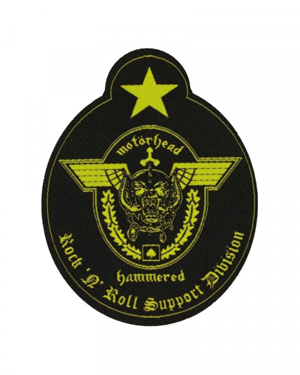 Motorhead - Support Division Cut-Out Woven Patch