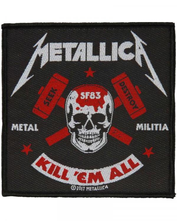 Metallica - Metal Militia Woven Patch