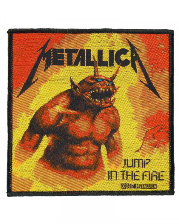 Metallica - Jump in the Fire Woven Patch
