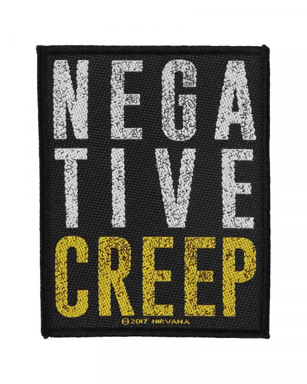 Nirvana - Negative Creep Woven Patch