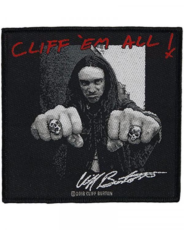 Metallica - Cliff 'Em All Woven Patch