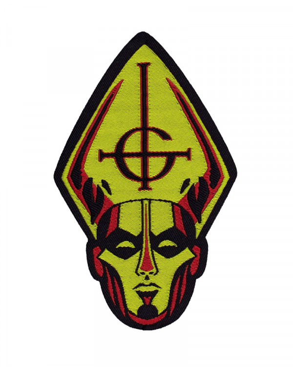 Ghost - Papa Head Woven Patch