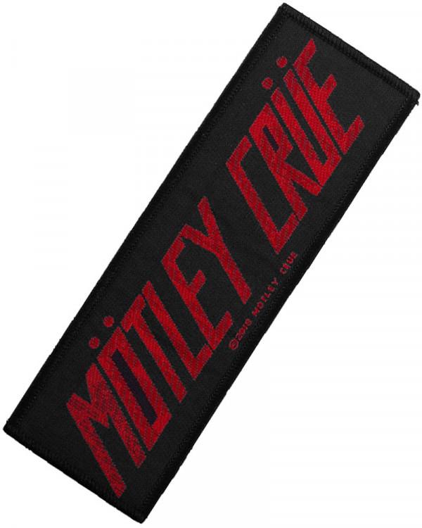 Motley Crue - Logo Woven Patch