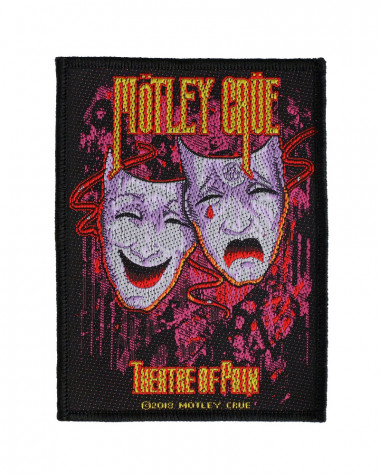 Motley Crue - Theatre Of Pain Woven Patch