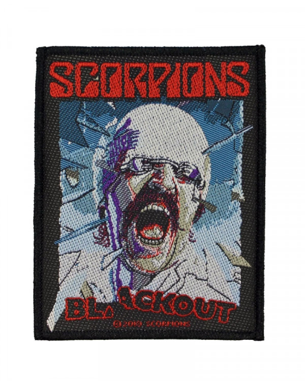 Scorpions - Blackout Woven Patch