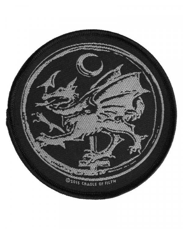 Cradle Of Filth - Order Of The Dragon Woven Patch