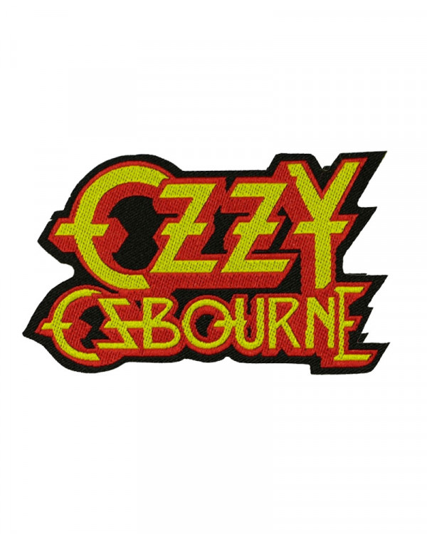 Ozzy Osbourne - Logo Cut-out Woven Patch