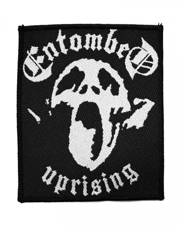 Entombed - Uprising Woven Patch