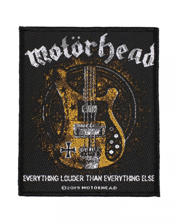 Motorhead - Lemmy's Bass Woven Patch