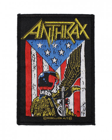 Anthrax - Judge Dredd Woven Patch