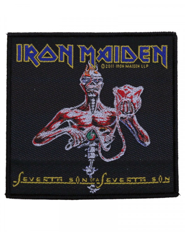 Iron Maiden - Seventh Son Woven Patch