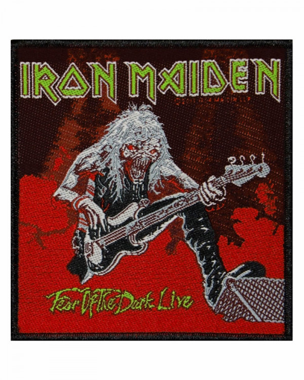 Iron Maiden - Fear of the Dark Live Woven Patch