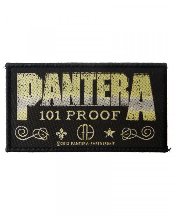 Pantera - Whiskey Label Woven Patch