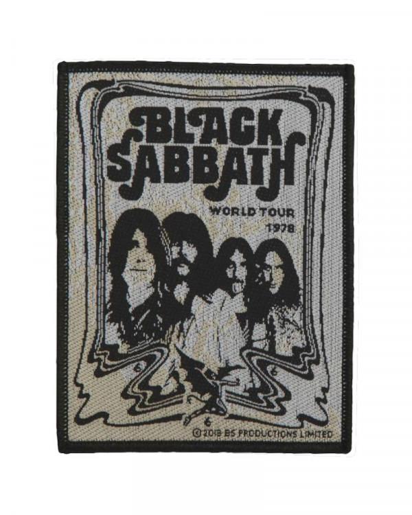 Black Sabbath - Band World Tour 1978 Woven Patch