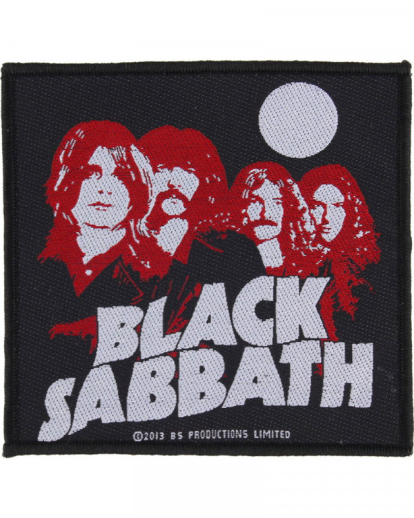 Black Sabbath - Red Portraits Woven Patch