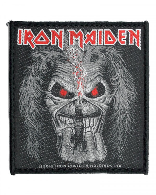Iron Maiden - Eddie Candle Finger Woven Patch