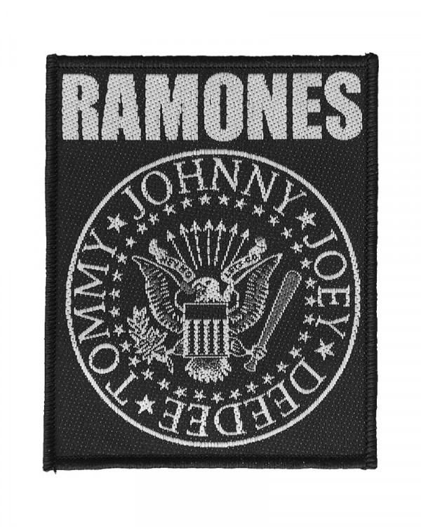 Ramones - Classic Seal Woven Patch