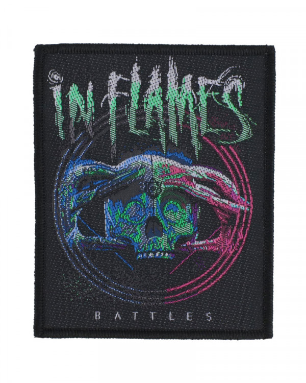 In Flames - Battles Woven Patch