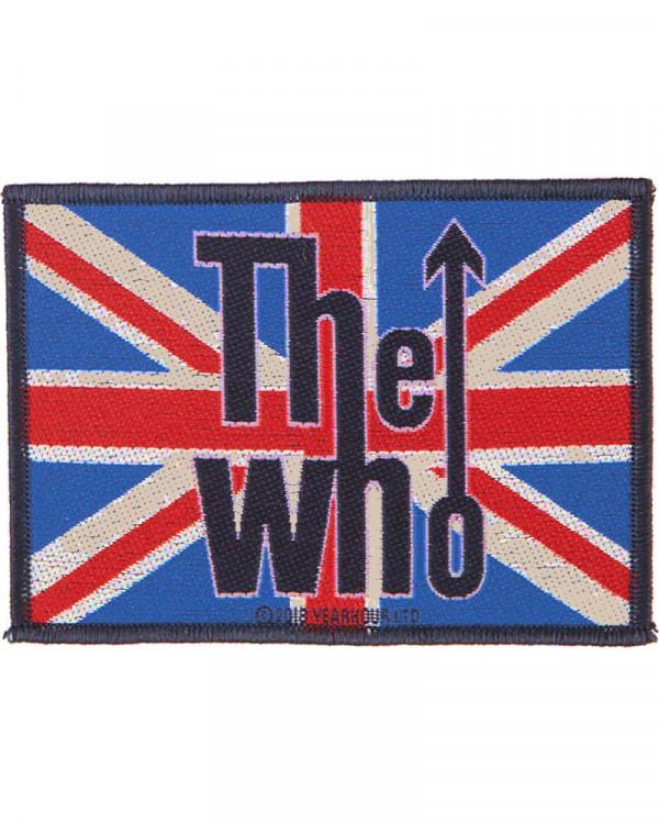 Who - Union Flag Logo Woven Patch