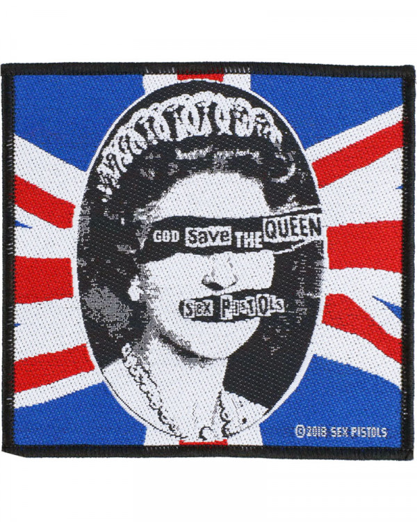 Sex Pistols - God Save The Queen Woven Patch