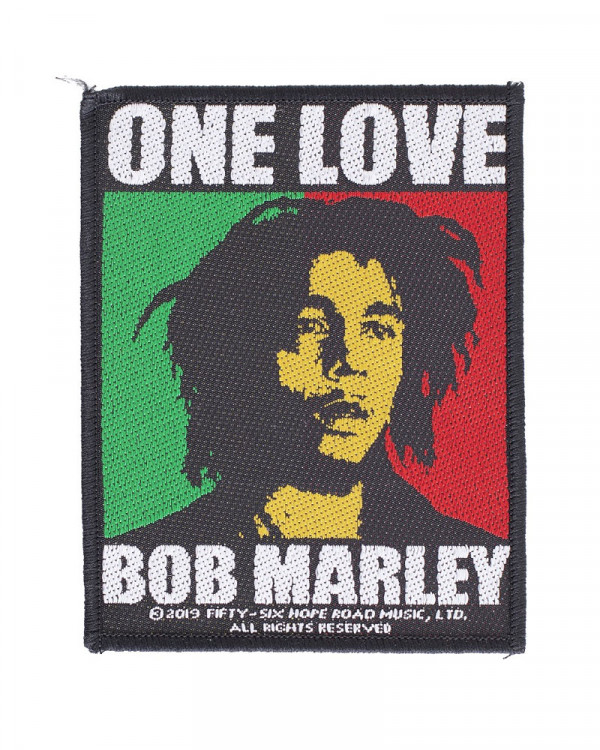 Bob Marley - One Love Woven Patch