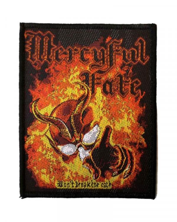 Mercyful Fate - Dont Break The Oath Woven Patch