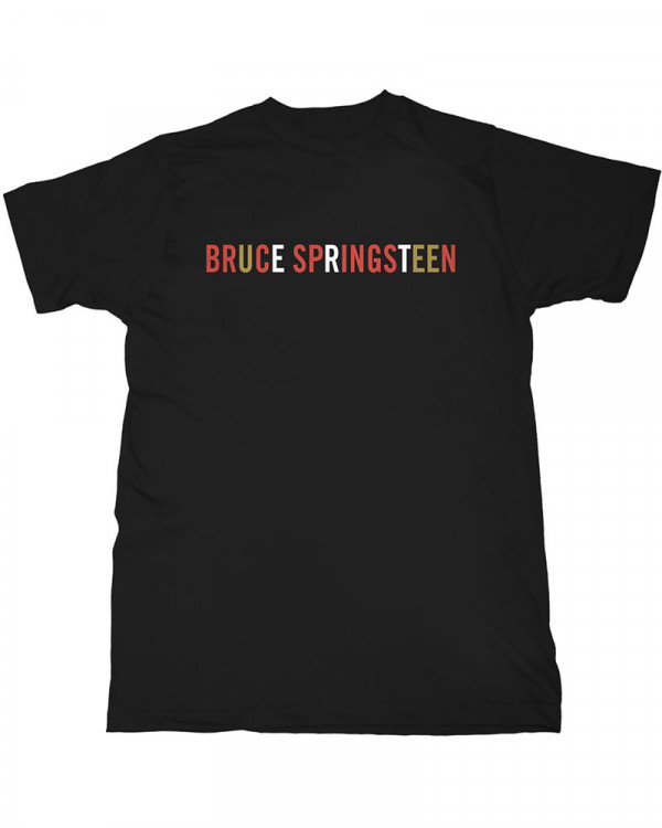 Bruce Springsteen - Logo Black Men's T-Shirt