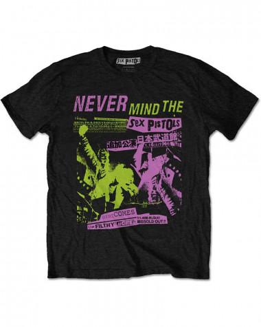 Sex Pistols - Japanese Poster Men's T-Shirt