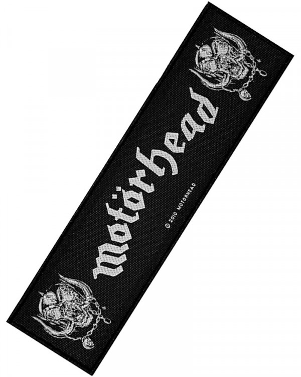 Motorhead - War Pigs Superstrip Woven Patch