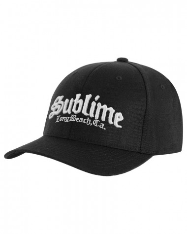 Sublime - CA Logo Black Baseball Cap