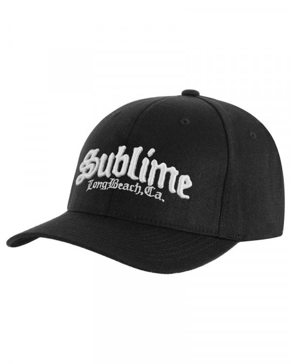 Sublime - CA Logo Black Baseball Cap
