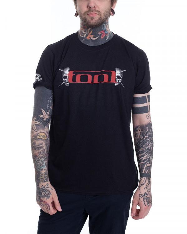 Tool - Skull Spikes Black Men's T-Shirt
