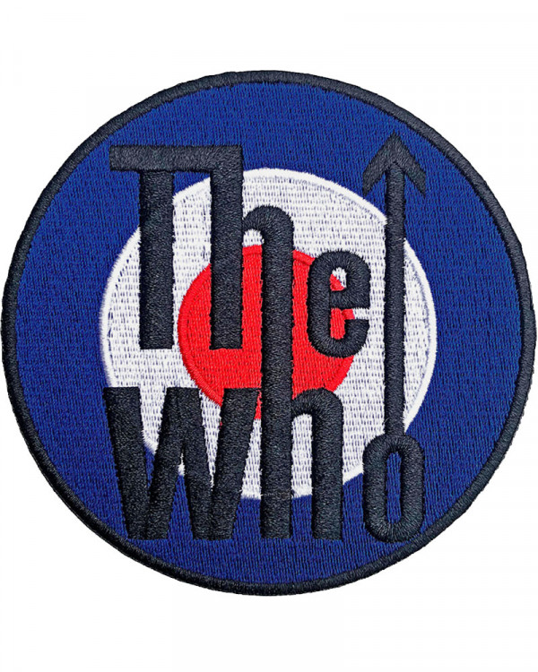 Who - Target Logo Bordered Embroidered Patch