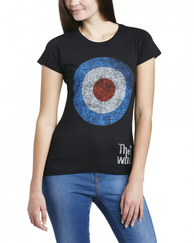 Who - Target Distressed Women's T-Shirt
