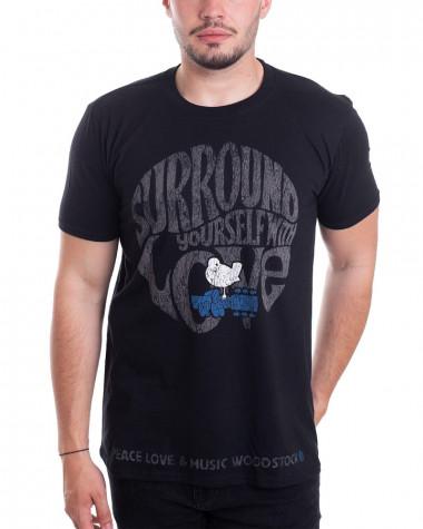 Woodstock - Surround Yourself Black Men's T-Shirt
