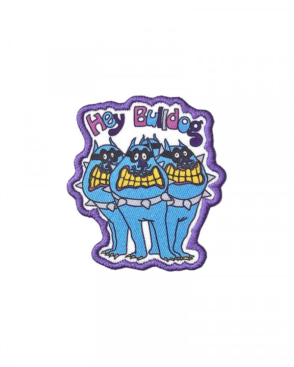 Beatles - Yellow Submarine Hey Bulldog Embroidered Patch
